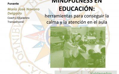 Mindfulness en Educación: Nueva convocatoria UNED 24-25-26 Octubre