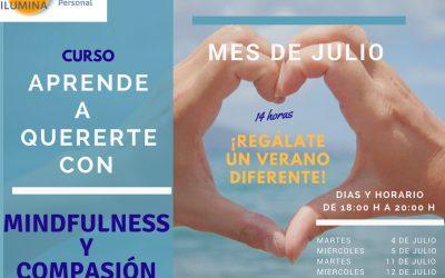 "En Julio ""Aprende a Quererte con Mindfulness y Compasión"""