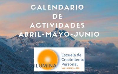 Calendario Abril-Mayo-Junio