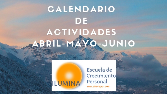 Calendario Abril-Mayo-Junio