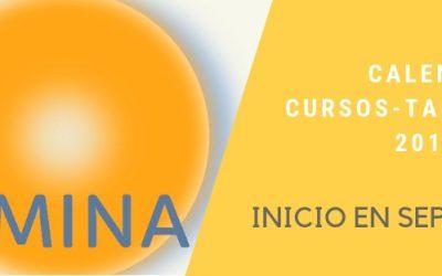 Oferta y Calendario de Cursos-Talleres 2019/2020: ¡Arrancamos en Septiembre!